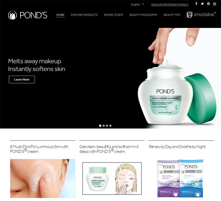 ponds cosmetics