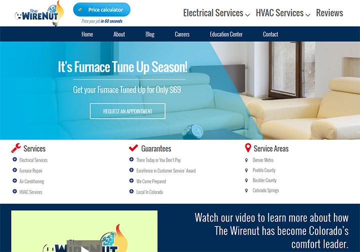 100 Best Electrician Website Designs