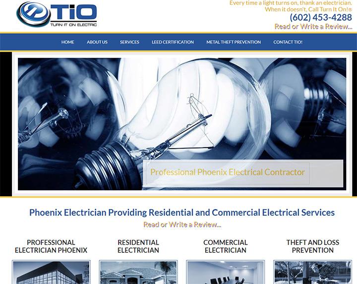 turn on electric