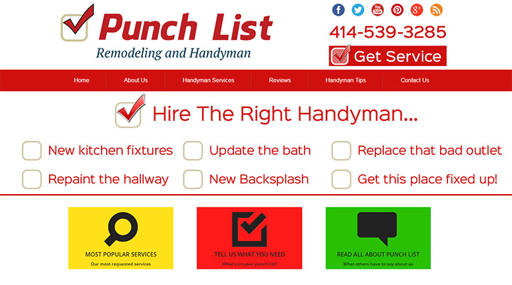 punch list electric