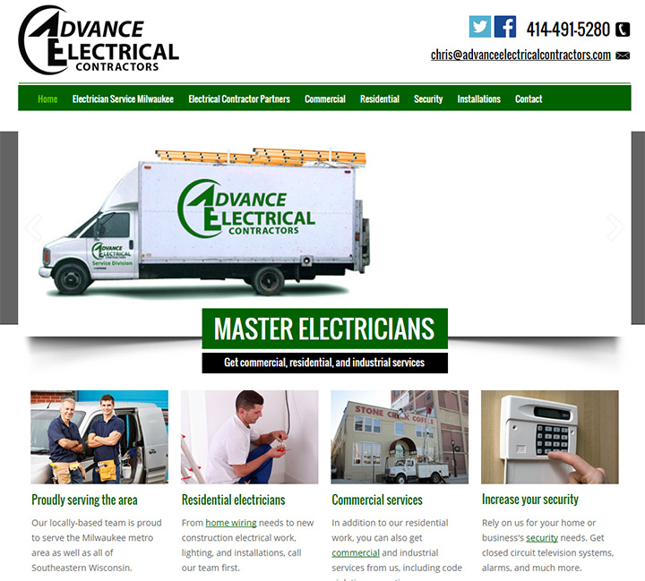 advance electrical contractors