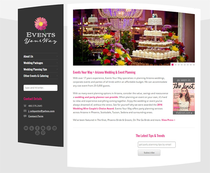 100 best wedding party event planning websites lola event productions junglespirit Choice Image