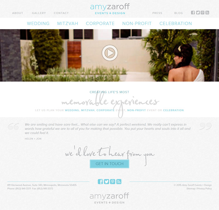 amy zaroff events
