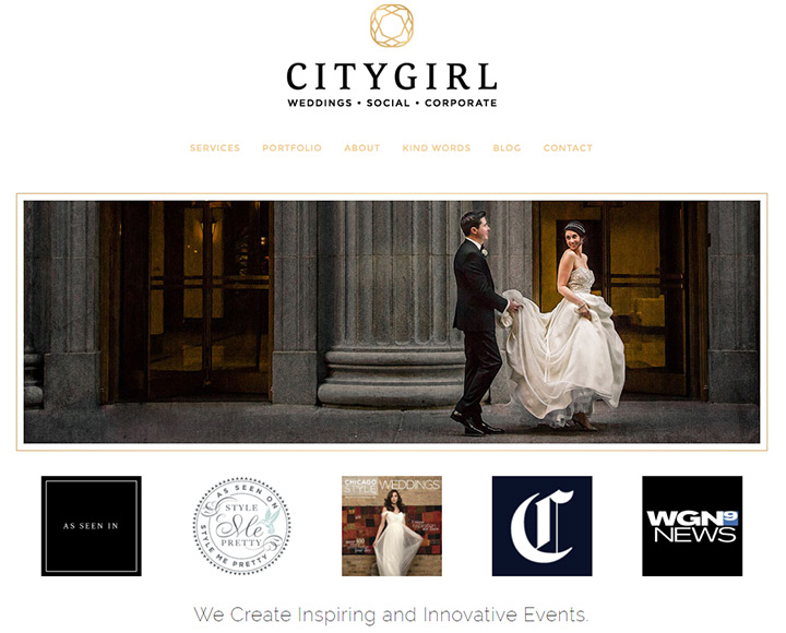 citygirl weddings