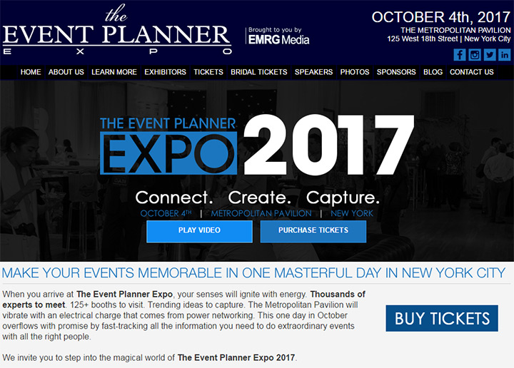 event planner expo