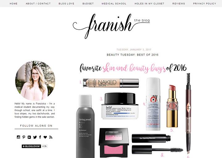 franish blog