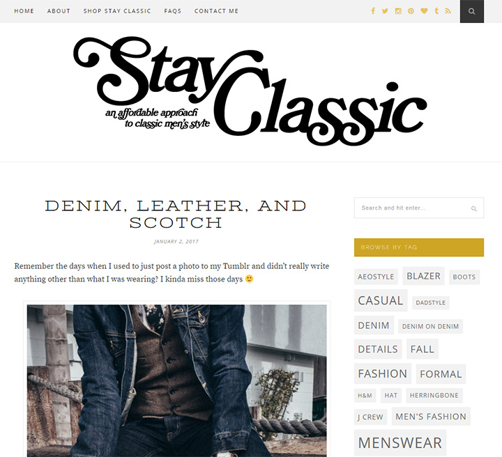 stay classic blog
