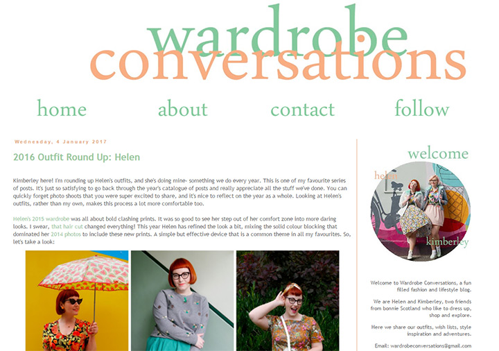 wardrobe conversations