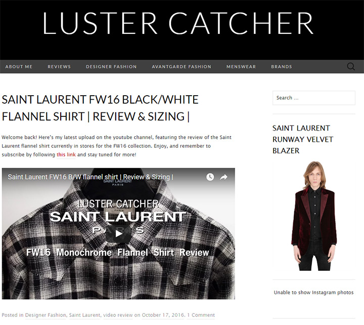 luster catcher