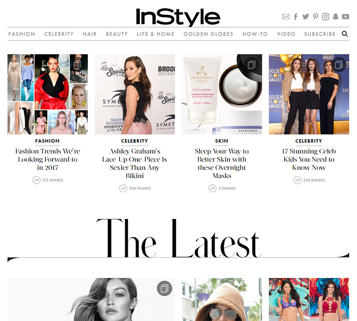 instyle blog