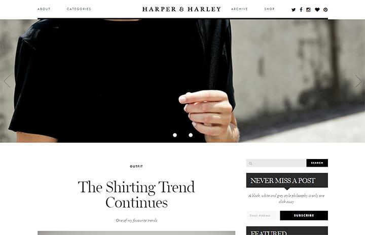 harper harley blog