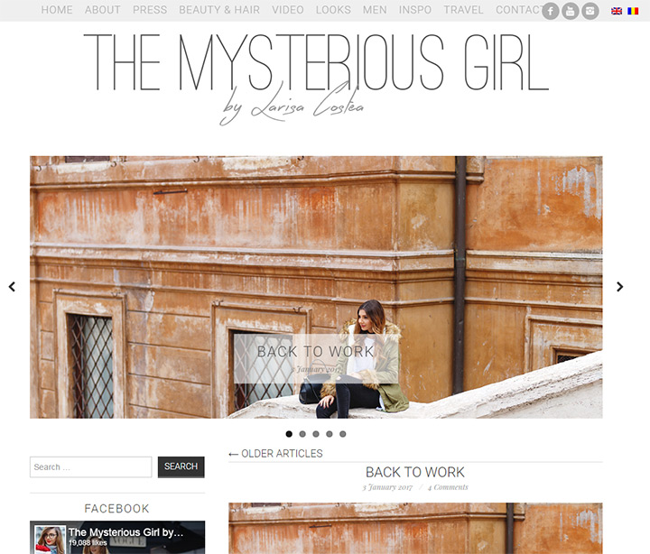 the mysterious girl