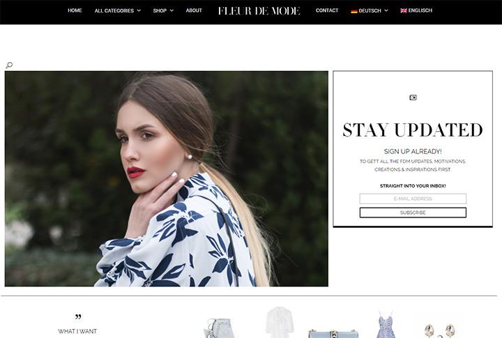 fleur de mode blog