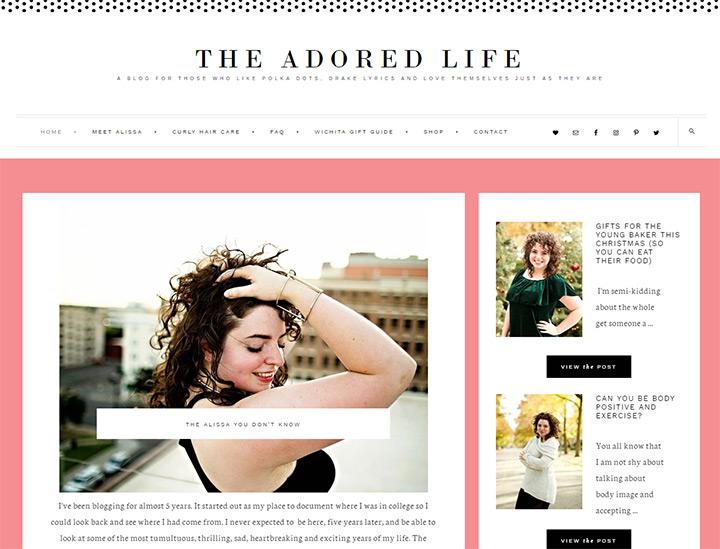 adored life blog
