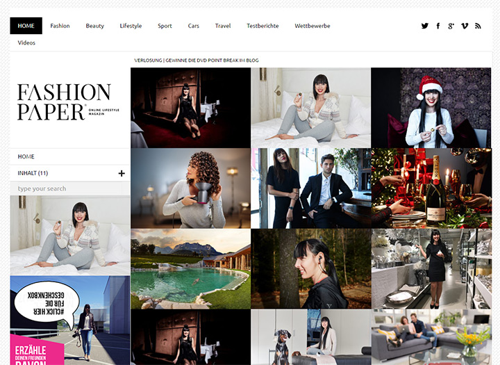 fashion paper blog