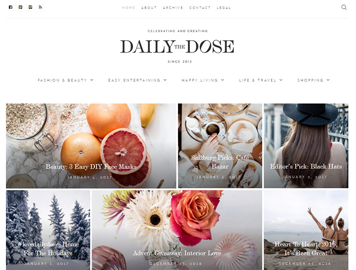 daily dose fashion blog