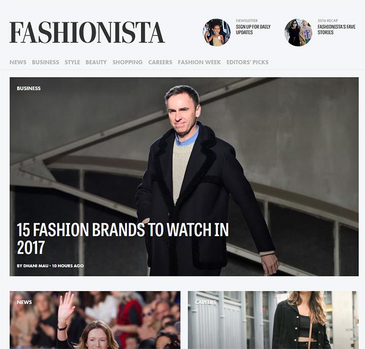 fashionista blog