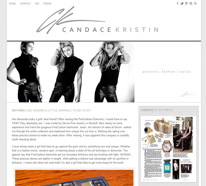 candace kristin blog