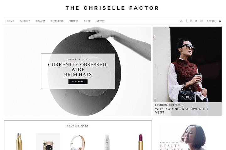 chriselle factor blog