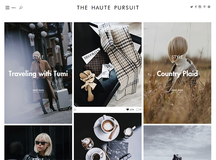 haute pursuit blog