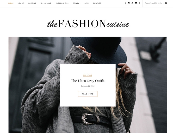 fashion cuisine blog