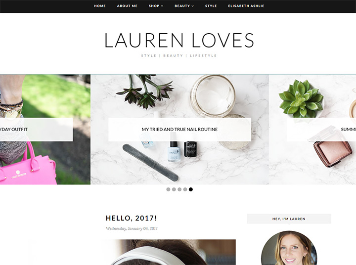 lauren loves blog