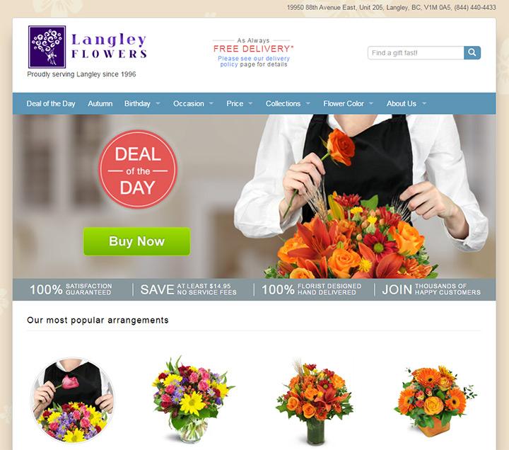 langley flowers