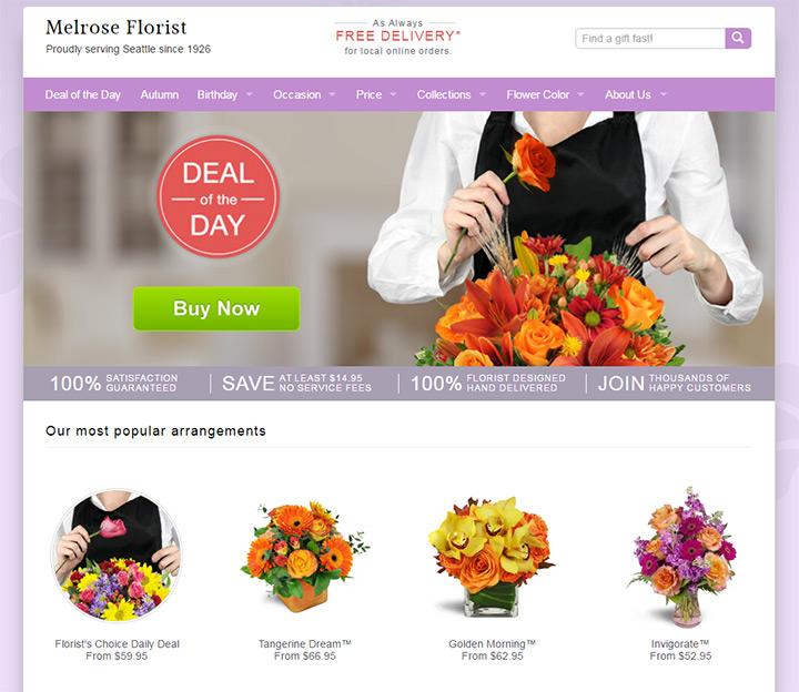 melrose florists