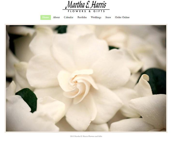 martha harris florist
