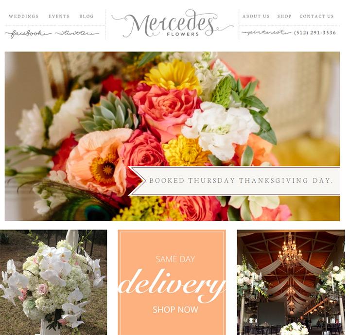 mercedes florists