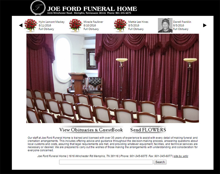joe ford funeral home