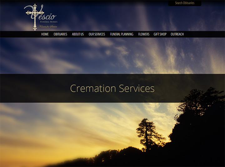 Yescio funeral homes