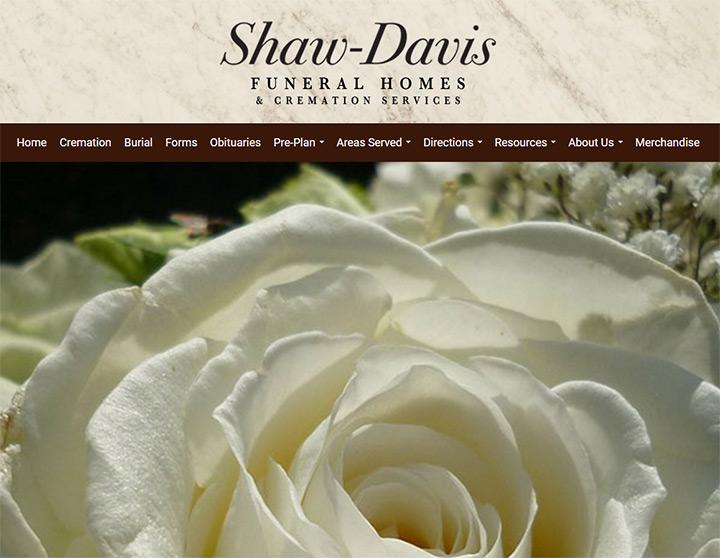 Shaw Davis funeral