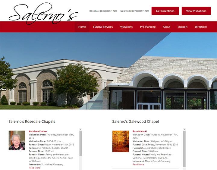 100 Best Funeral Home Website Designs