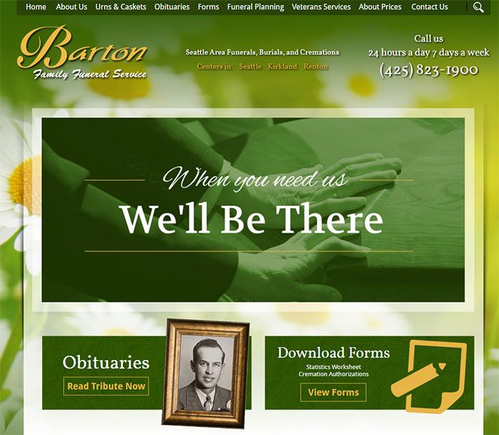 Barton family funeral services