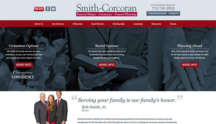 funeral of smitch corcoran