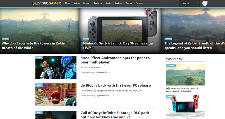 videogamer blog