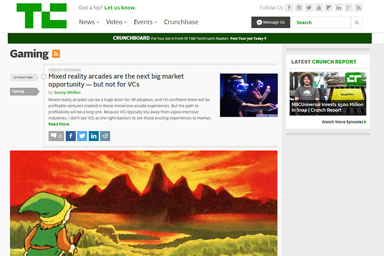 techcrunch gaming
