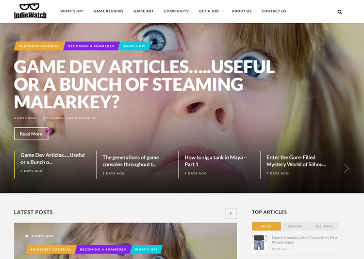 indiewatch blog