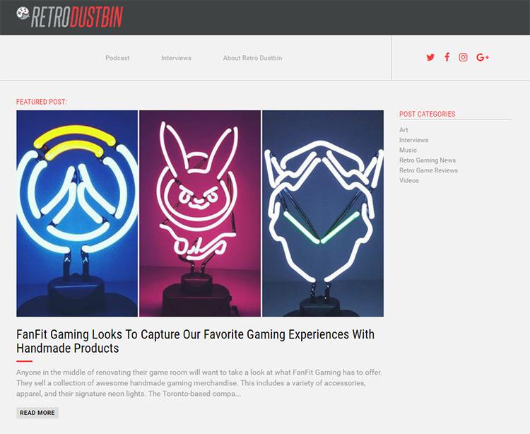 retro gaming blog
