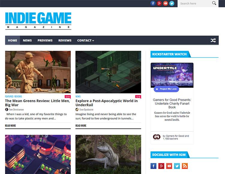 indie gaming mag