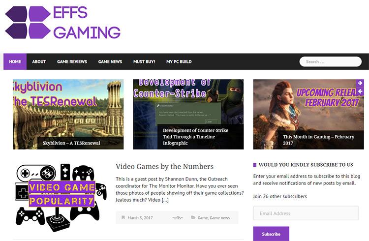 effs gaming blog