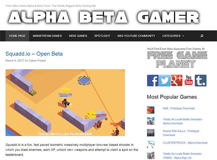 alpha beta gamer