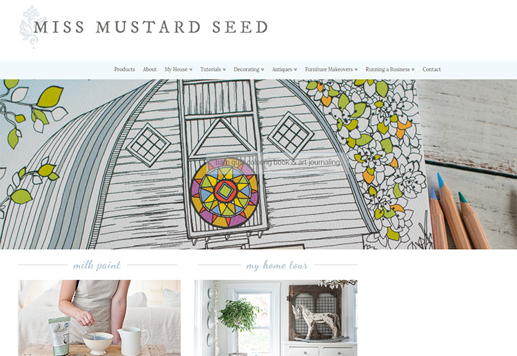 miss mustard seed