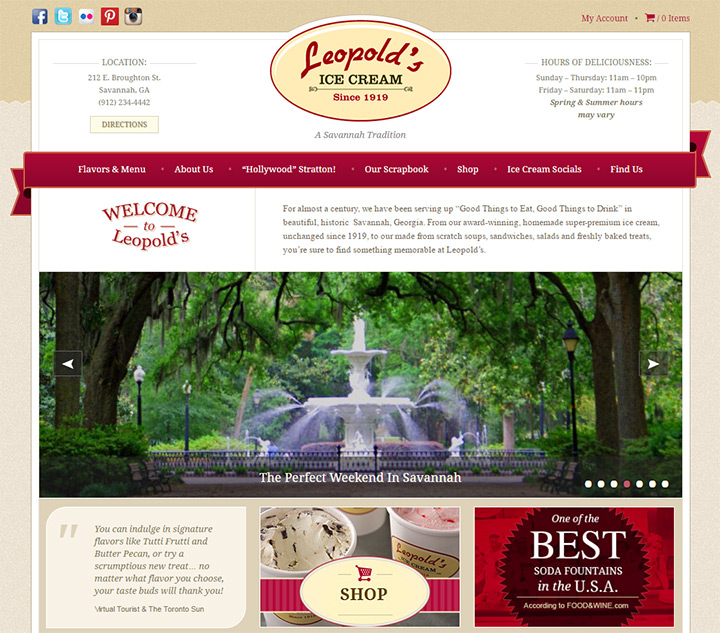leopolds ice cream