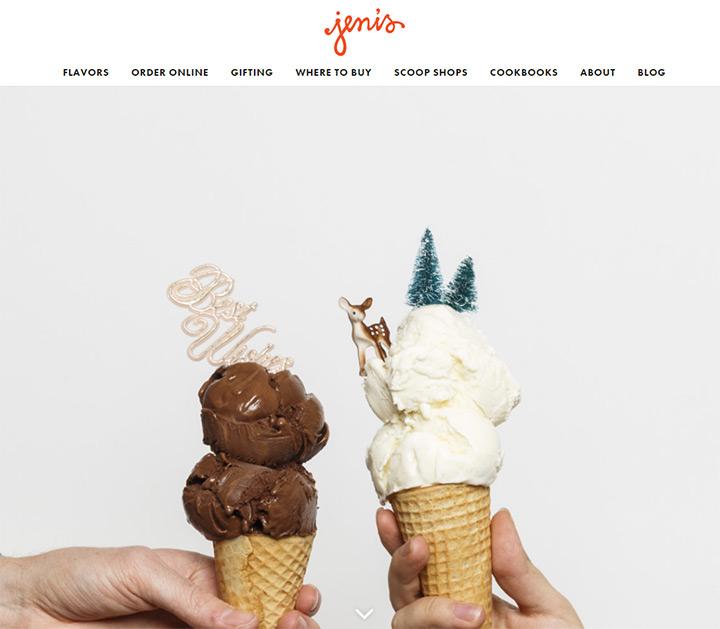 jenis ice cream