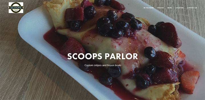scoops parlor