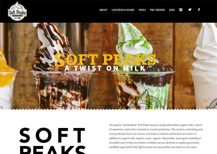 soft peaks ice cream