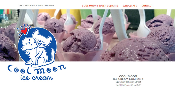 cool moon ice cream