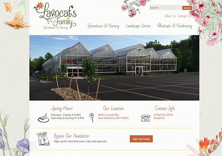 lavocat greenhouse nursery